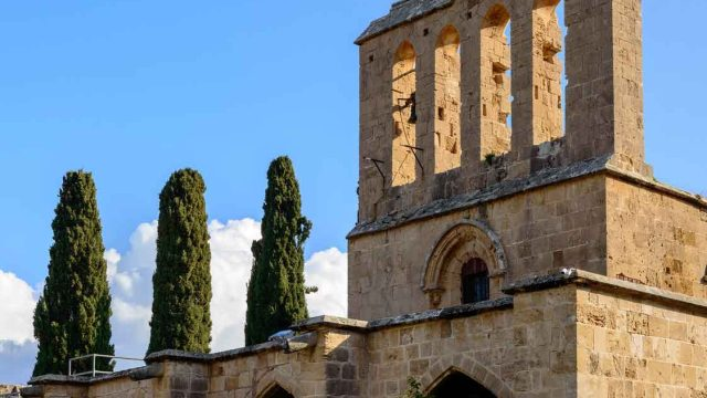 The Bellapais Abbey and Lawrence Durell