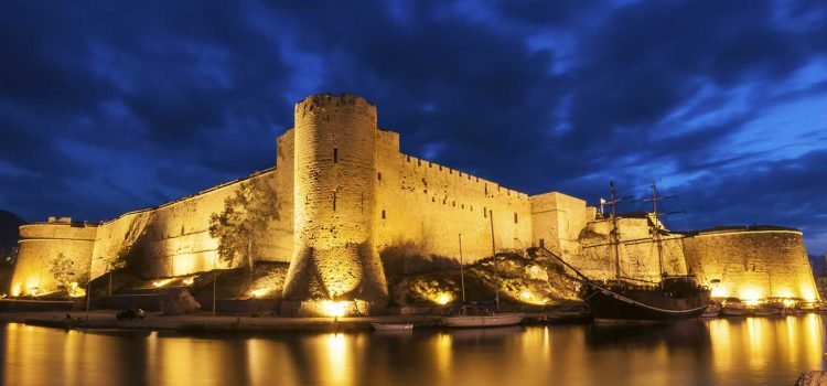 The Kyrenia (Girne) Castle and the Shipwreck Museum